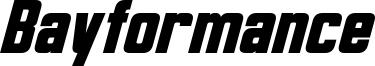 Bayformance Italic.otf
