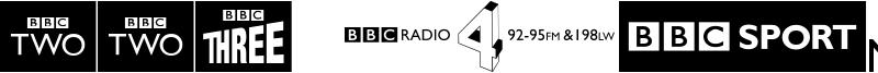 BBC logos Font