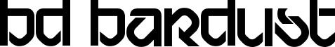 BD Bardust Font