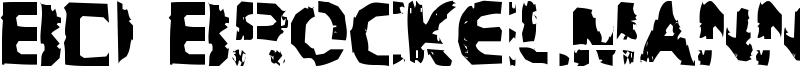 BD Brockelmann Font