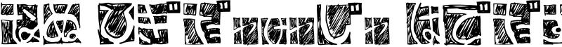 BD Hiragana Kuro Font