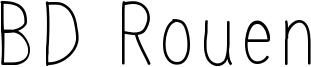 BD Rouen Font
