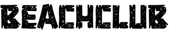 Beachclub Font
