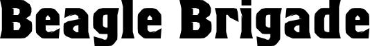 Beagle Brigade Font