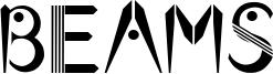 Beams Font