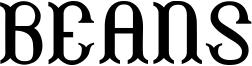 Beans Font
