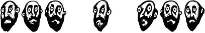 Beard Man Font