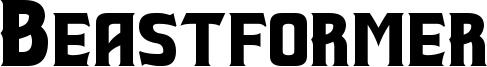 Beastformer Font