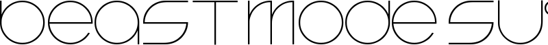 Beast Mode Suite Font