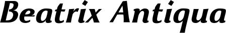 BeatrixAntiqua-BoldItalic Trial.ttf