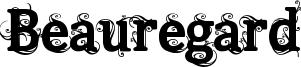 Beauregard Font