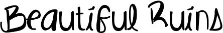 Beautiful Ruins Font
