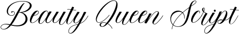 Beauty Queen Script Font