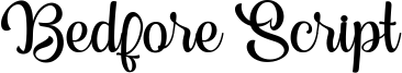 Bedfore Script Font
