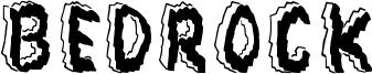 Bedrock Font