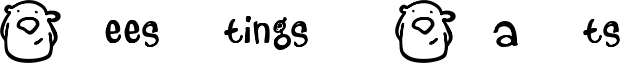 Beestings Bats Font