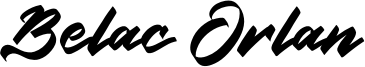 Belac Orlan Font