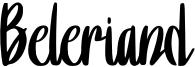 Beleriand Font