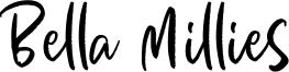 Bella Millies Font
