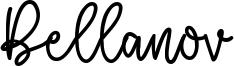 Bellanov Font