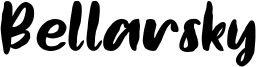 Bellarsky Font