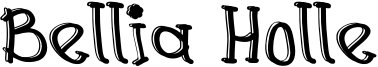 Bellia Holle Font