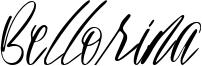 Bellorina Font