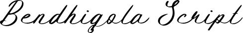 Bendhigola Script Font