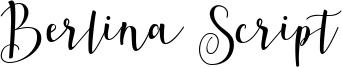 Berlina Script Font