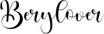 Berylover Font