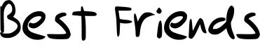 Best Friends Font