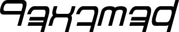 Betazed Italic.otf