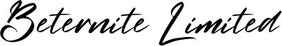 Beternite Limited Font