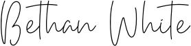 Bethan White Font