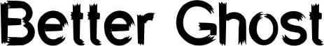 Better Ghost Font