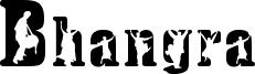 Bhangra Font