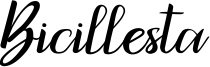 Bicillesta Font