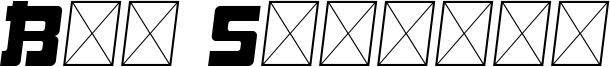 Big Samurai Font