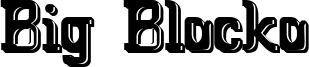 Big Blocko Font