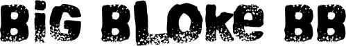 Big Bloke BB Font