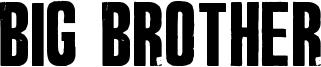 Big Brother Font