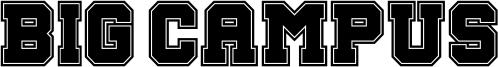 Big Campus Font