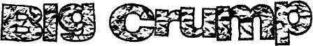 Big Crump Font