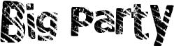 Big Party Font