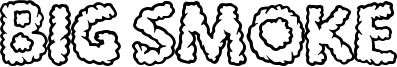 Big Smoke Font