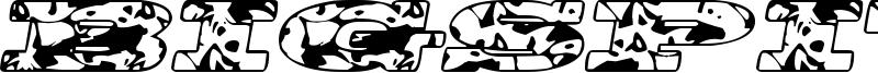 BigSpit Font