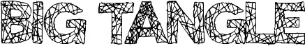 Big Tangle Font
