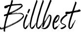 Billbest Font