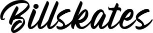 Billskates Font