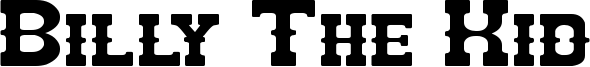 Billy The Kid Font